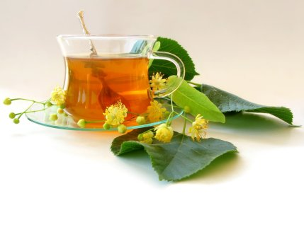 Lime flower and tea